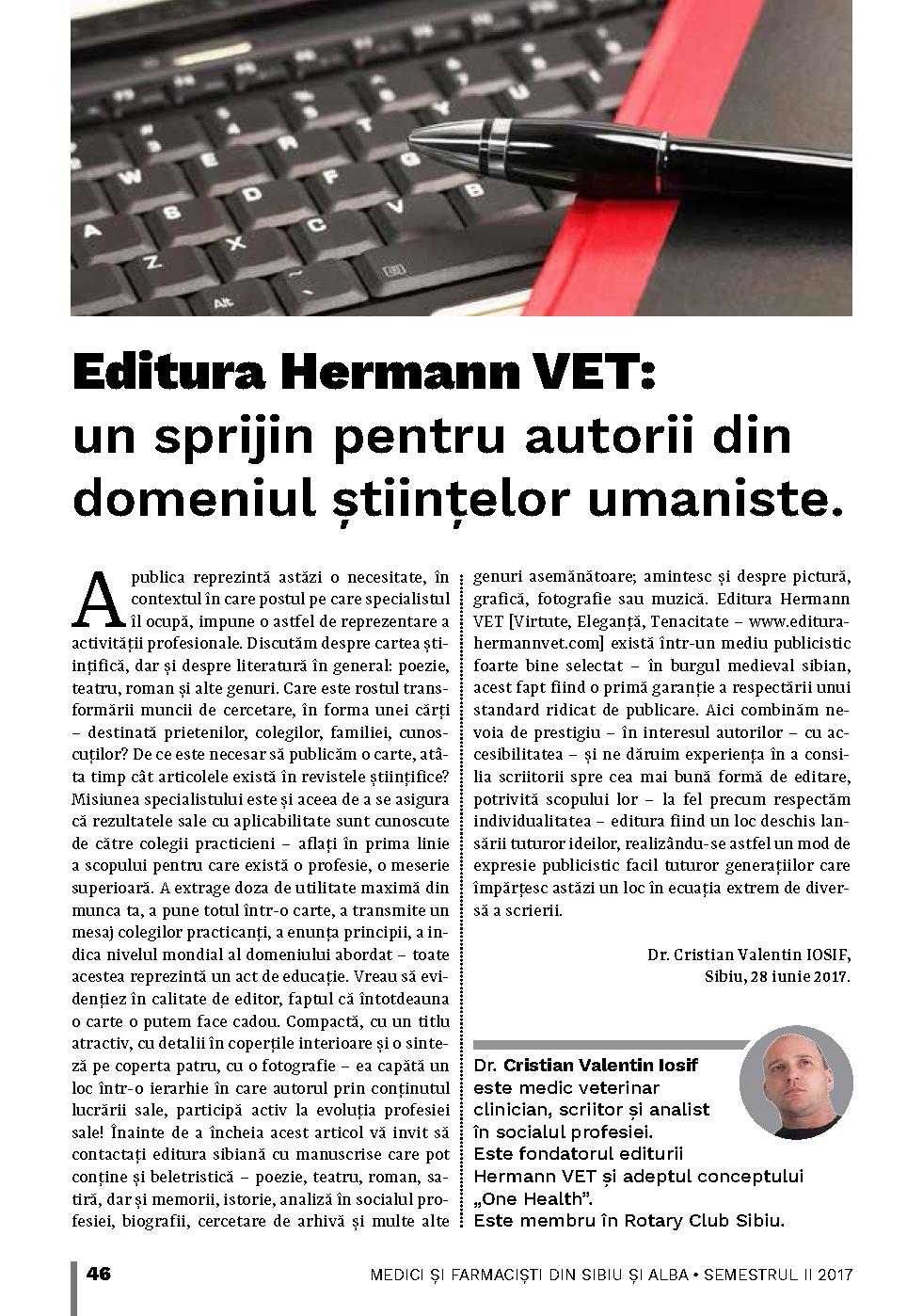 Editura Hermann VET